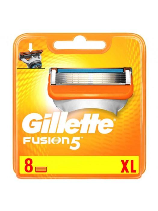 Gillette Fusion skutimosi peiliukai 8 vnt.