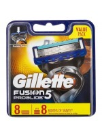 Gillette Fusion 5 Proglide Skutimosi peiliukai, 8 vnt.