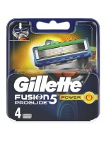 Gillette Fusion Power Proglide Skutimosi peiliukai, 4 vnt.